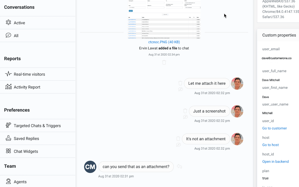Helpmonks Live-Chat for free