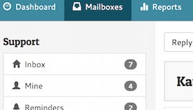 Helpmonks shared mailboxes help you manage team email conversations